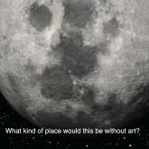 Plausible Artworlds on the Moon
